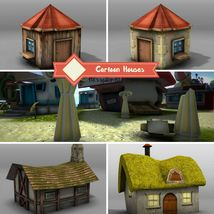 Cartoon Houses - Extended License image 3