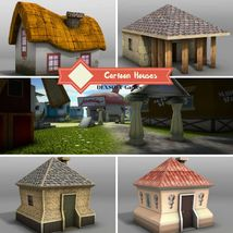 Cartoon Houses - Extended License image 4