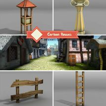 Cartoon Houses - Extended License image 5