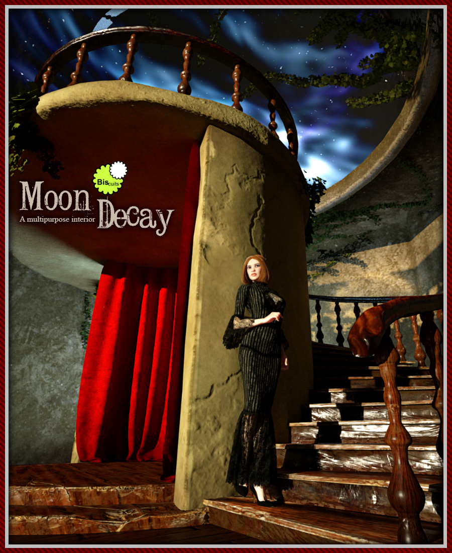 Biscuits Moon Decay Room by Biscuits