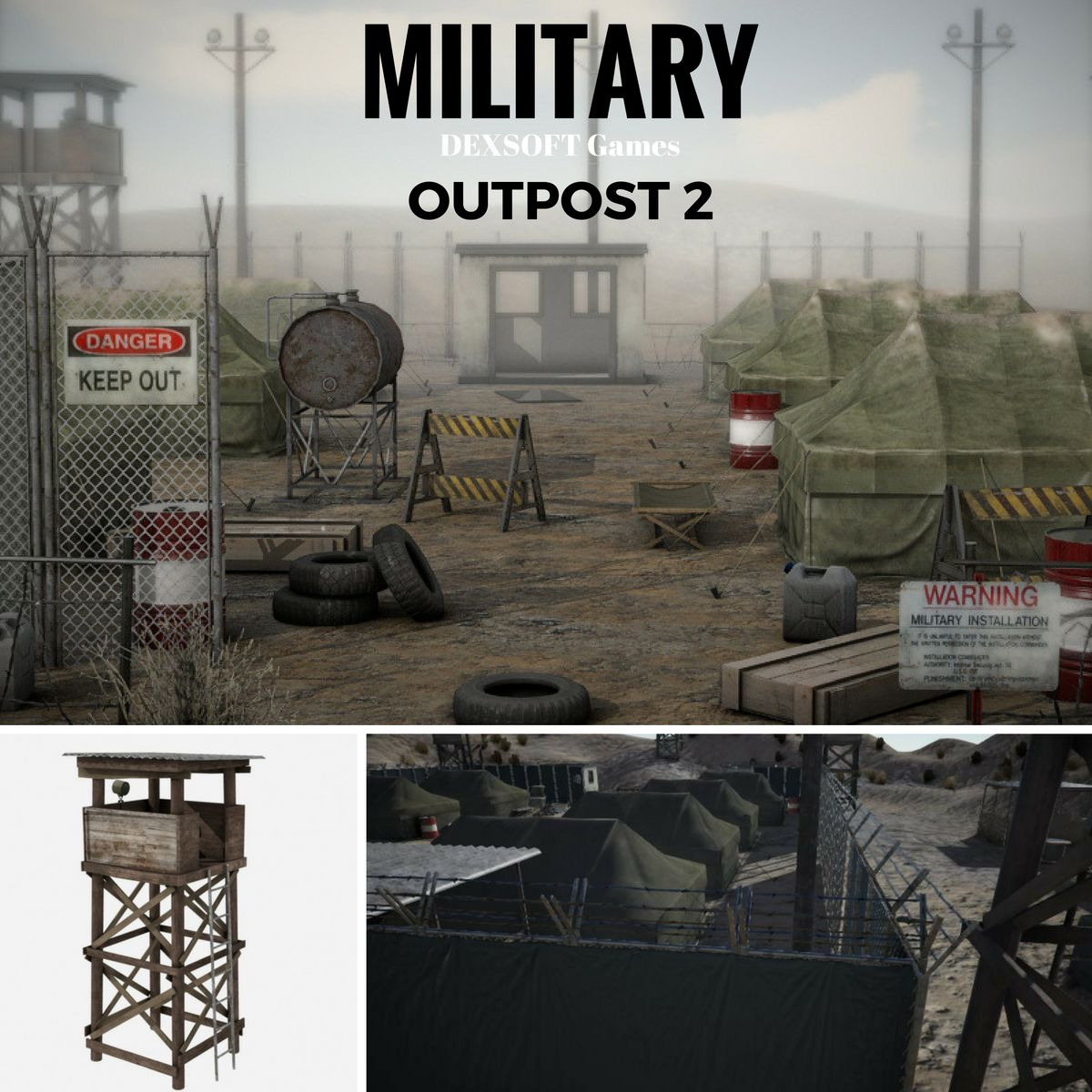 Military Outpost 2 - Extended License