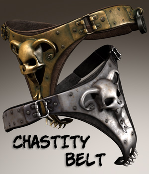 Chastity Belt 3D Figure Essentials coflek-gnorg