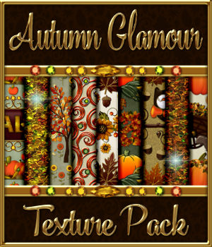 Autumn Glamour Seamless Texture Pack  2D Merchant Resources fractalartist01