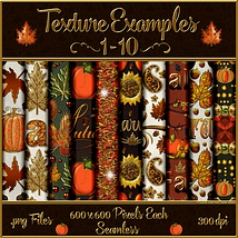Autumn Glamour Seamless Texture Pack  image 1