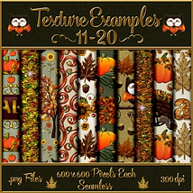 Autumn Glamour Seamless Texture Pack  image 2