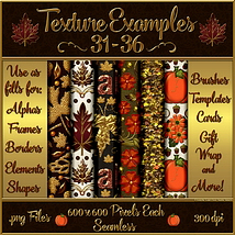 Autumn Glamour Seamless Texture Pack  image 4