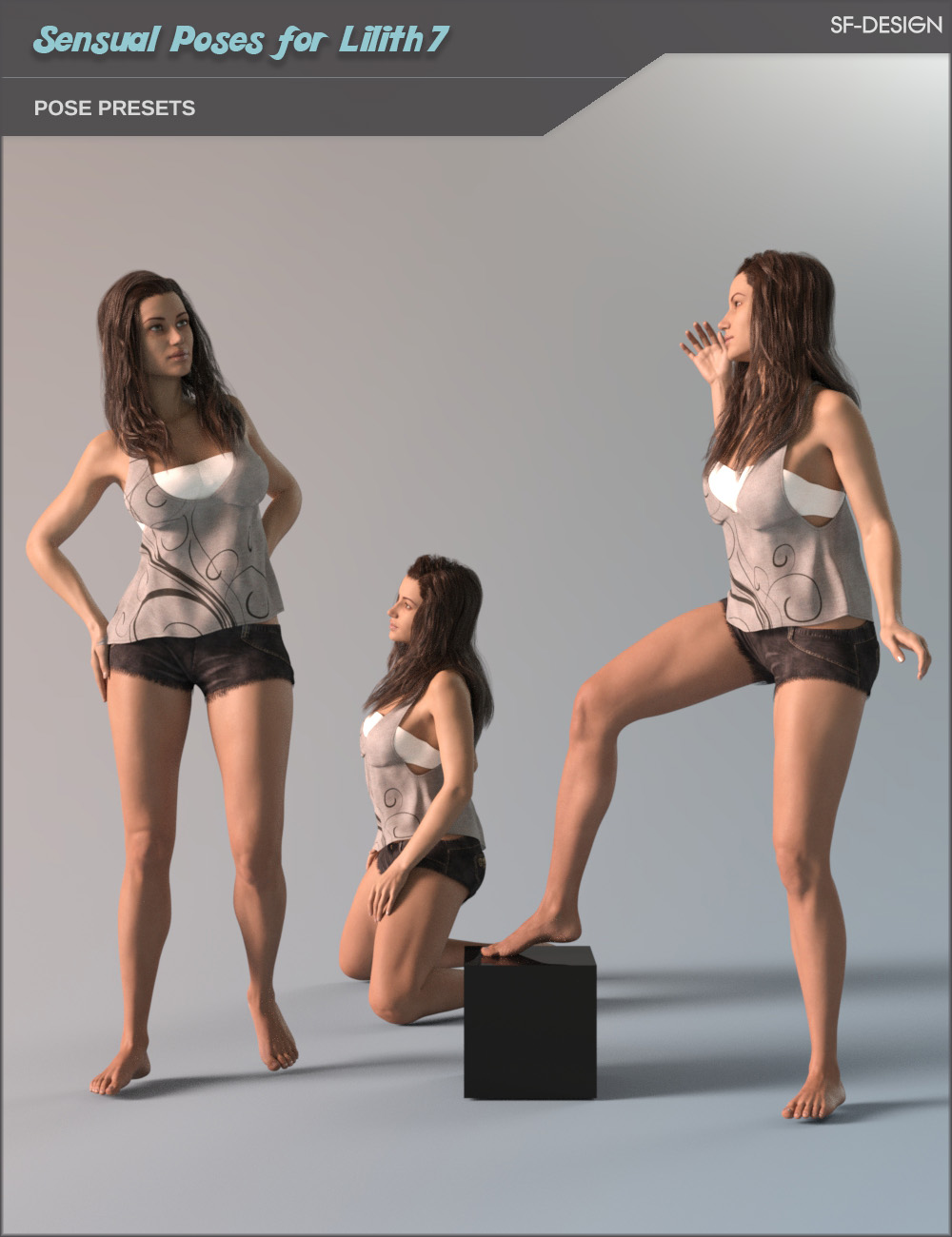 Sensual Poses for Lilith 7