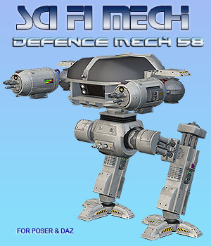 Defence Mech 58 3D Models Simon-3D