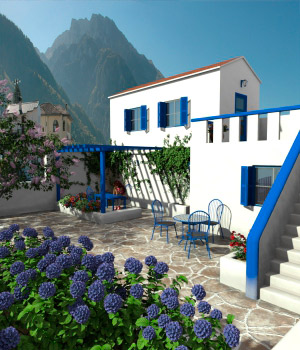 AJ Greek House by -AppleJack-
