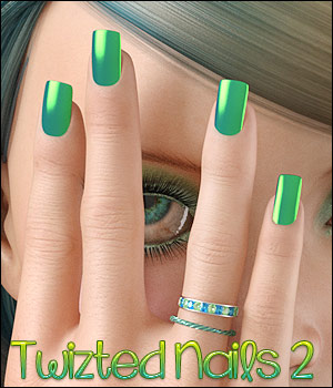 Twizted Nails 2 MR 3D Figure Assets TwiztedMetal