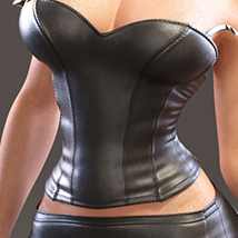 Leather Cami Set for Genesis 3 Females and Nata3 image 1
