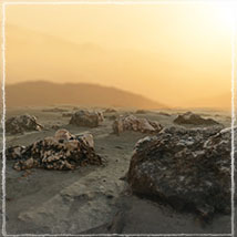 3D Scenery: Spiky Cliffs image 2