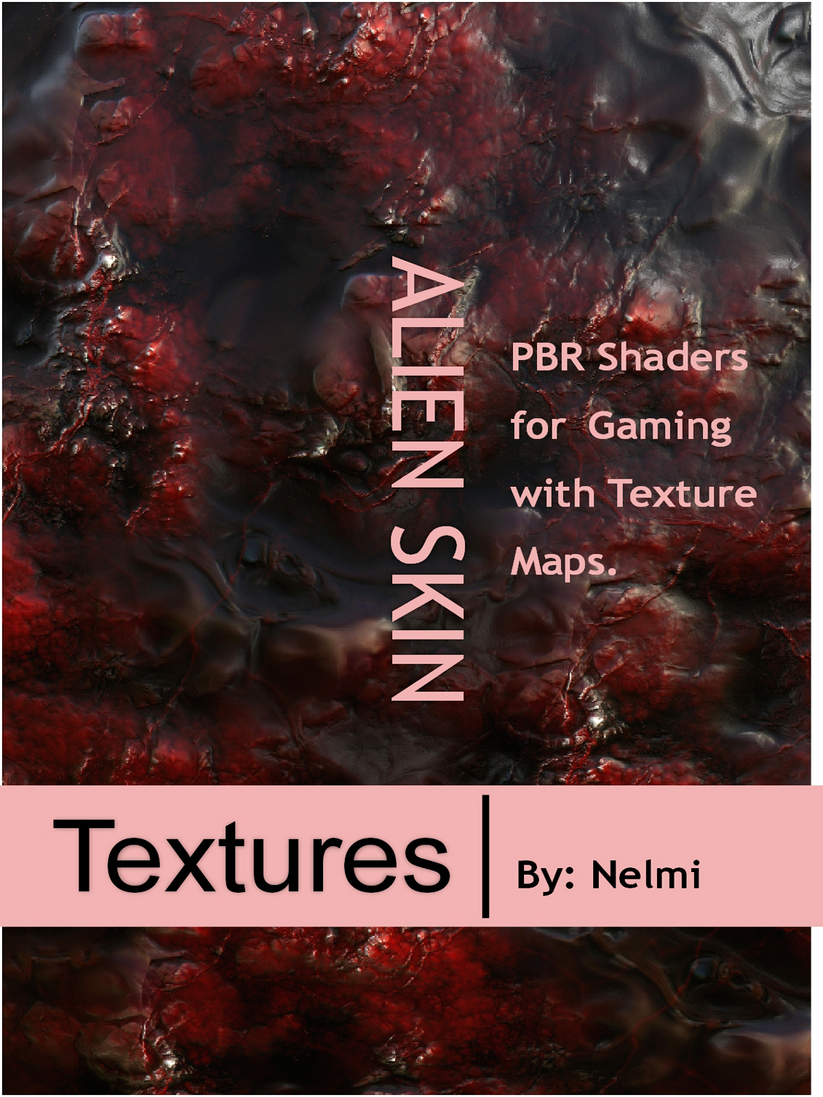 10 Seamless Alien Skin PBR Textures and Texture Maps - Gaming Assets