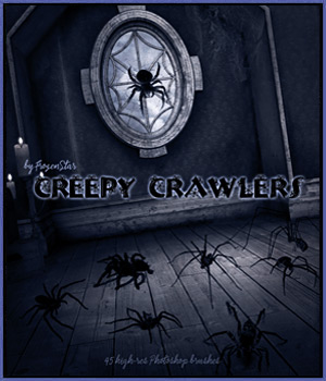 FS Creepy Crawlers 2D Graphics FrozenStar