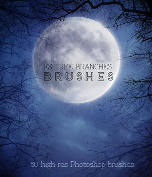 FS Tree Branches Brushes 2D Graphics FrozenStar