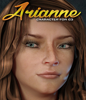 Exnem Arianne Character for G3 Female 3D Figure Assets exnem