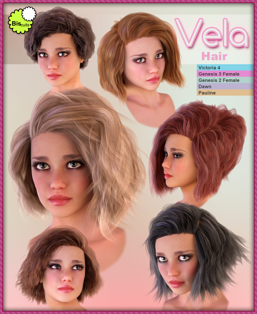 Biscuits Vela Hair