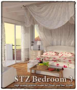 STZ Bedroom 3 3D Models santuziy78