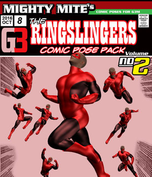 The Ringslingers v02 : By MightyMite for G3M 3D Figure Assets MightyMite