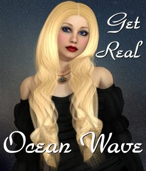 Get Real for Ocean Wave Hair  3D Figure Essentials chrislenn