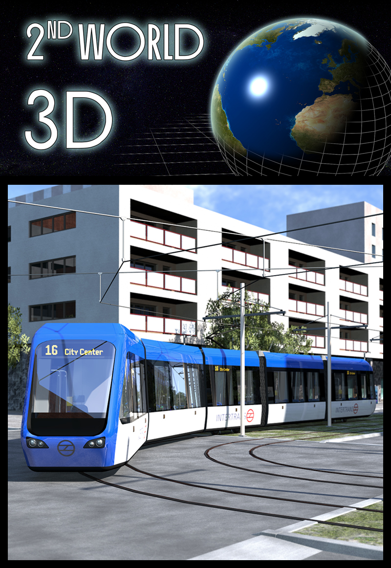 Modern City Tram - Extended License by 2nd_World