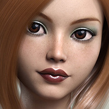 FWSA Freckles for Genesis 3 and Nata image 1