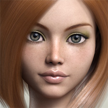 FWSA Freckles for Genesis 3 and Nata image 2