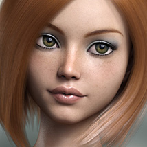 FWSA Freckles for Genesis 3 and Nata image 3
