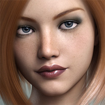 FWSA Freckles for Genesis 3 and Nata image 5