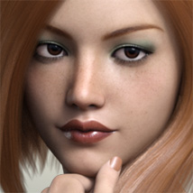 FWSA Freckles for Genesis 3 and Nata image 6