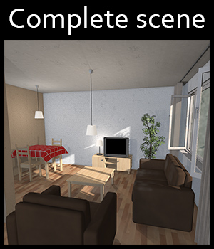 Low-Budget Apartment - Extended License 3D Models Extended Licenses 2nd_World