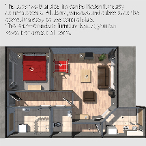 Low-Budget Apartment - Extended License image 4