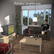 Low-Budget Apartment - Extended License image 7