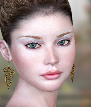 Janet for Poser 3D Figure Assets Virtual_World