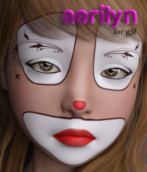 Aerilyn for G3F 3D Figure Essentials AliveSheCried
