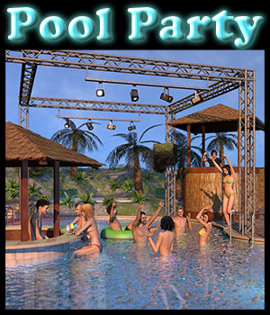 Pool Party - Extended License 3D Models Extended Licenses 2nd_World