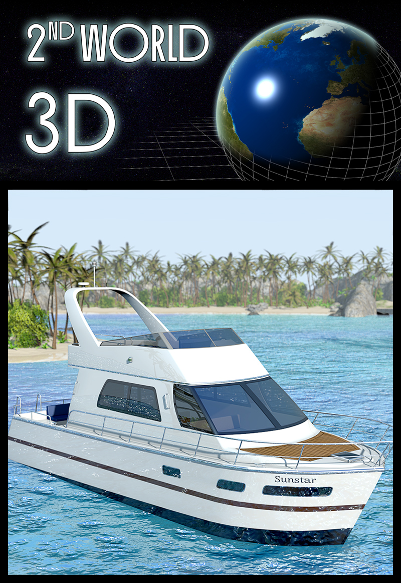 Luxurious motor yacht - Extended License by 2nd_World