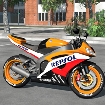 Racing Motorcycle R6 - Extended License image 1