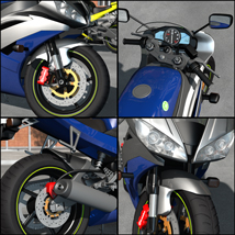 Racing Motorcycle R6 - Extended License image 3