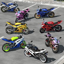 Racing Motorcycle R6 - Extended License image 5