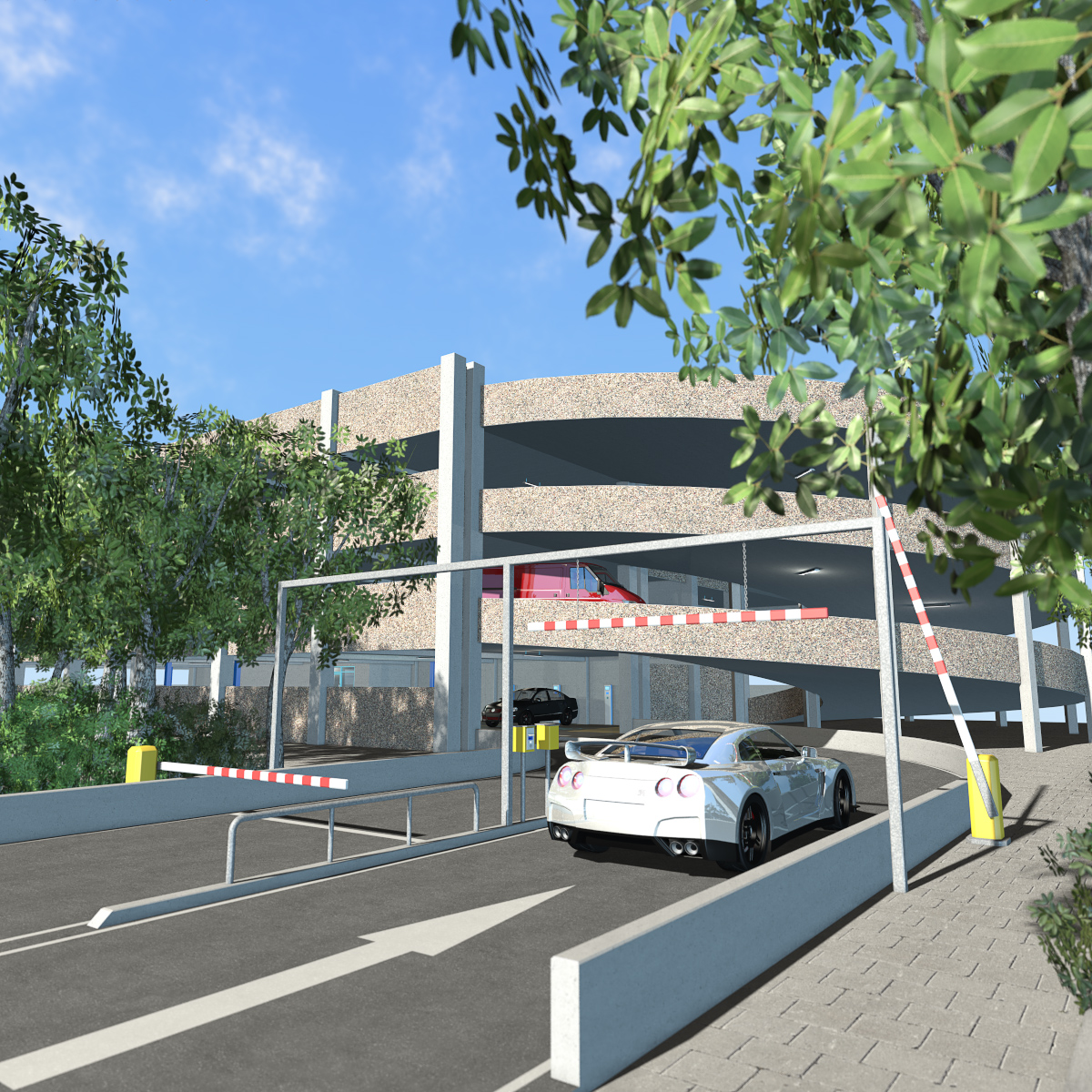 Multi-storey car park - Extended License by 2nd_World