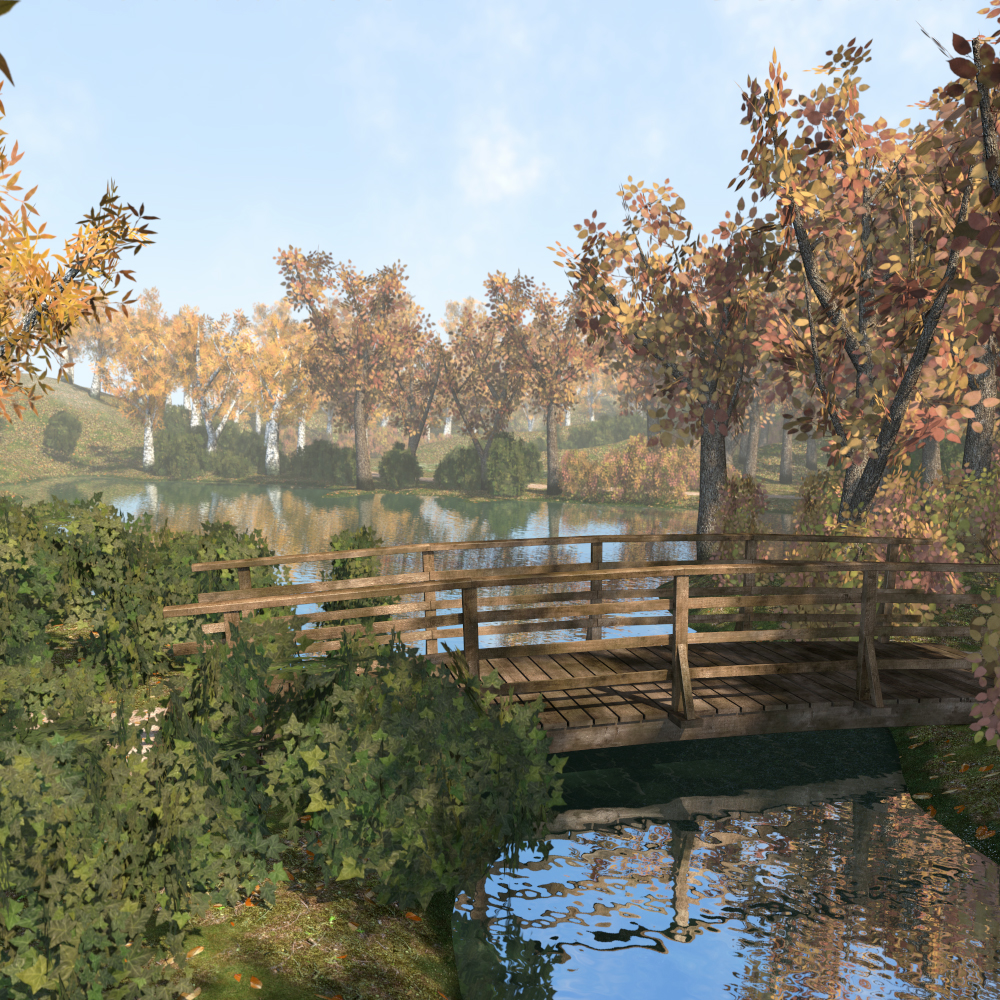 Park and Nature scene - Extended License by 2nd_World