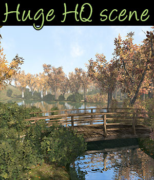 Park and Nature scene - Extended License 3D Models Extended Licenses 2nd_World