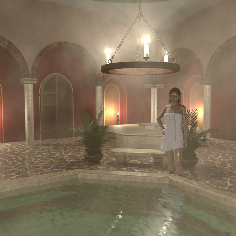 Bath house scene - Extended License by 2nd_World