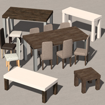 Everyday items, Furniture collection 1 - Extended License image 4