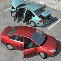 Low Poly Car 1 - Extended License image 1