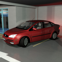 Low Poly Car 1 - Extended License image 3