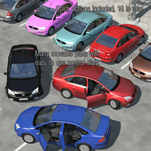 Low Poly Car 1 - Extended License image 4