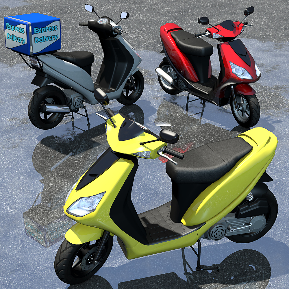Modern Scooter - Extended License