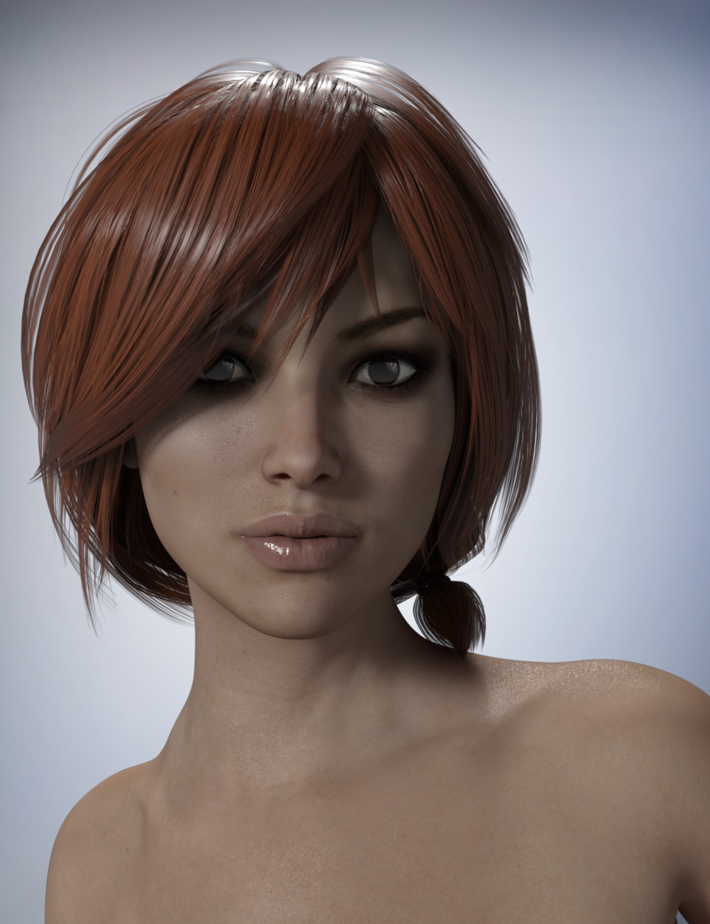 Nata 3 Hair for Genesis 3 Female
